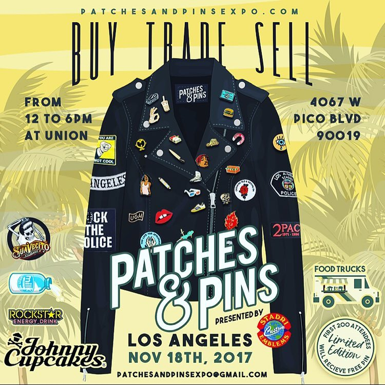 Patch & Pin Expo instagram