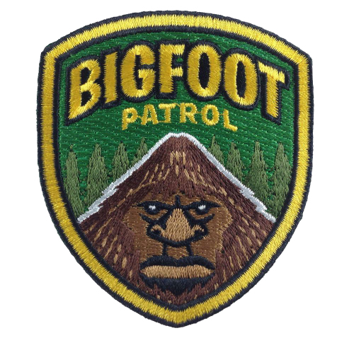 Bigfoot Patrol Patch by George Coghill