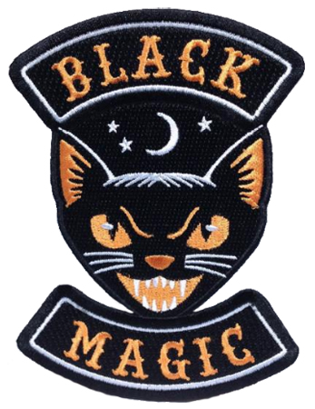 Monsterologist Black Magic Patch