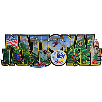 Limited Edition 2017 National Jamboree Patch