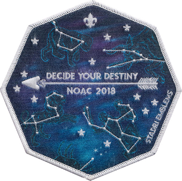 NOAC 2018 Limited Edition Constellation Patch