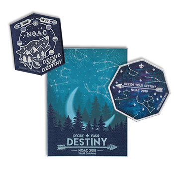 NOAC 2018 Merchandise - Patch Trifecta Set