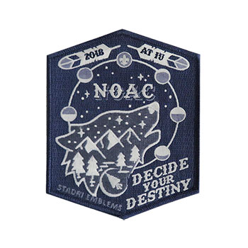 NOAC 2018 Limited Edition Wolf Patch