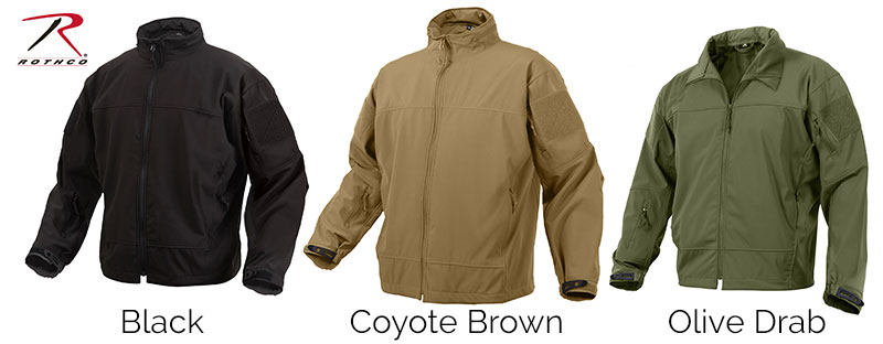 Tactical Gear - Covert Ops LightWeight Soft Shell Jacket