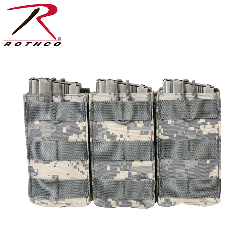 Tactical Gear - MOLLE Open Top Triple Mag Pouch