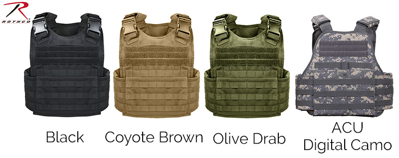Tactical Gear - MOLLE Plate Carrier Vest