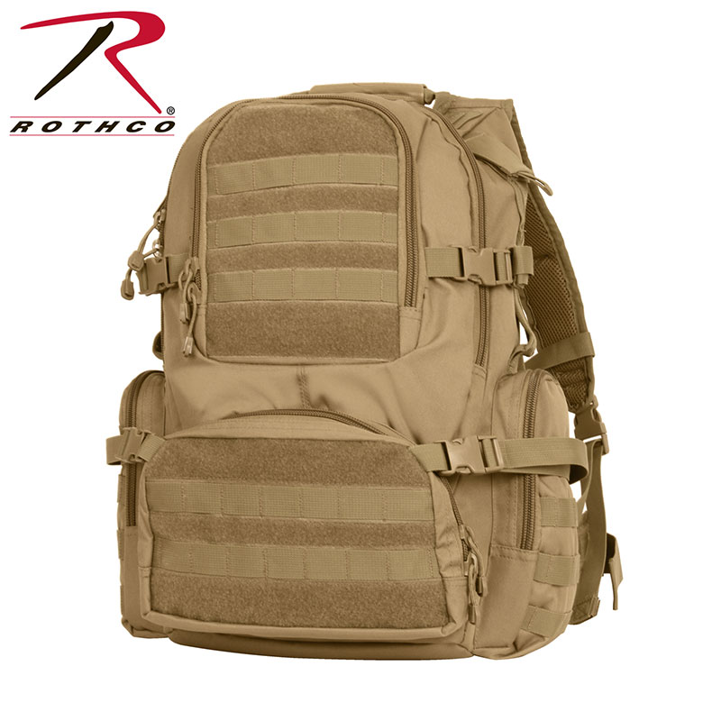Tactical Gear - Multi-Chamber MOLLE Assault Pack