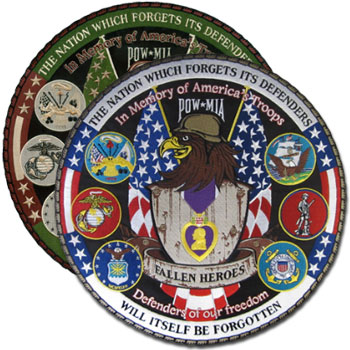 Commemorative Fallen Heroes Patch