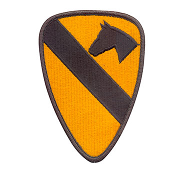 Stock Military Patch - First Calvary