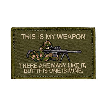 Morale Patch - This is My Weapon - Sniper