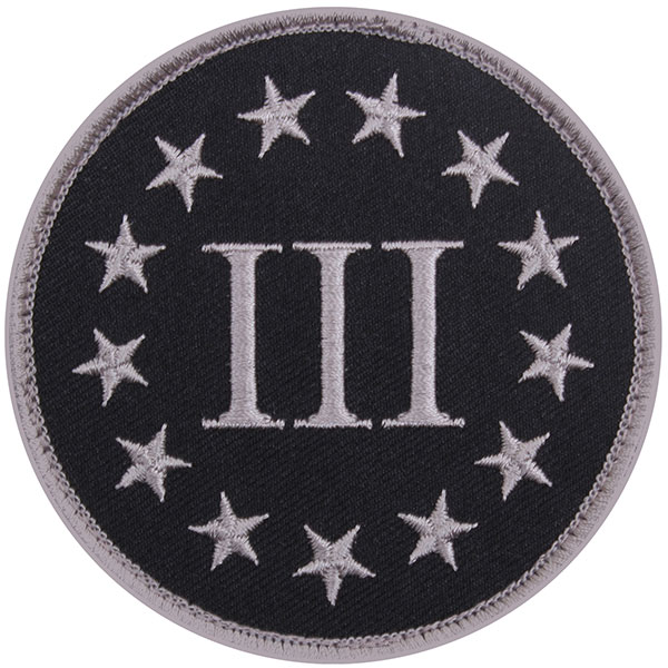 Morale Patch - Three Percenter