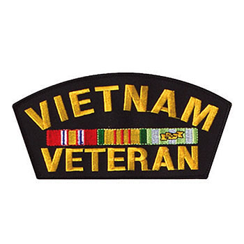 Stock Military Patch - Vietnam Veteran