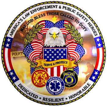 Commemorative Public Safety Patch