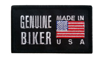 Stock Biker Patch - Genuine Biker