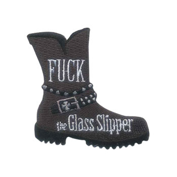 Stock Biker Patch - Fuck the Glass Slipper