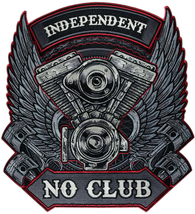 Stock Biker Patch - Independent Back Patch