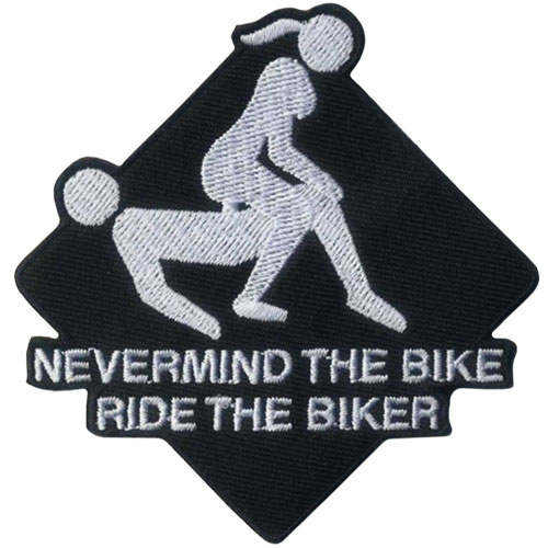 Stock Biker Patch - Nevermind the Bike