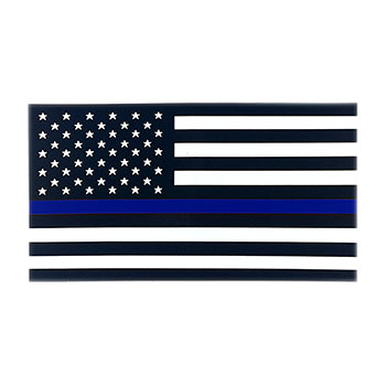 Stock Police Decal - Thin Blue Line