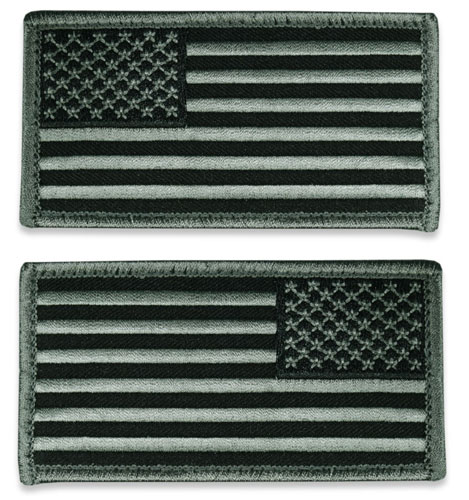Tactical US Flag Patch (Full Length) - ACU