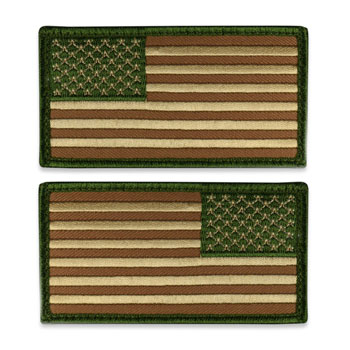 Tactical US Flag Patch (Full Length) - Multicam