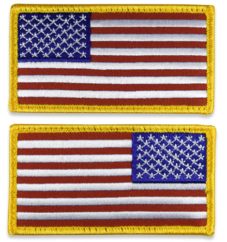 Tactical US Flag Patch (Full Length) - Standard Colors