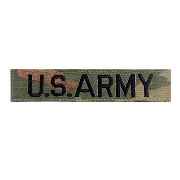 Military Name Tape - Army OCP
