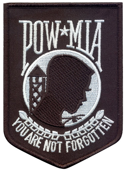 Stock Military Patch - Pow Mia