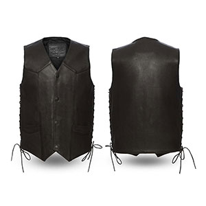 The Deadwood Men's High End Side Laces Vest