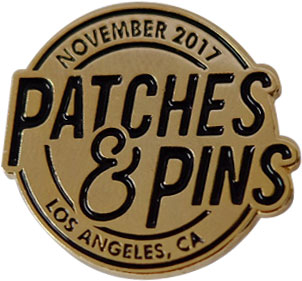 Patch & Pin Expo pin by Stadri Emblems