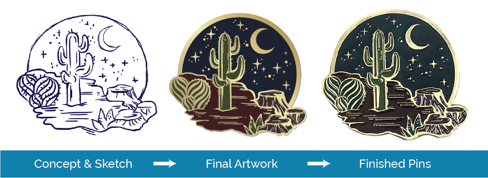Guide to Creating Your First Enamel Pin