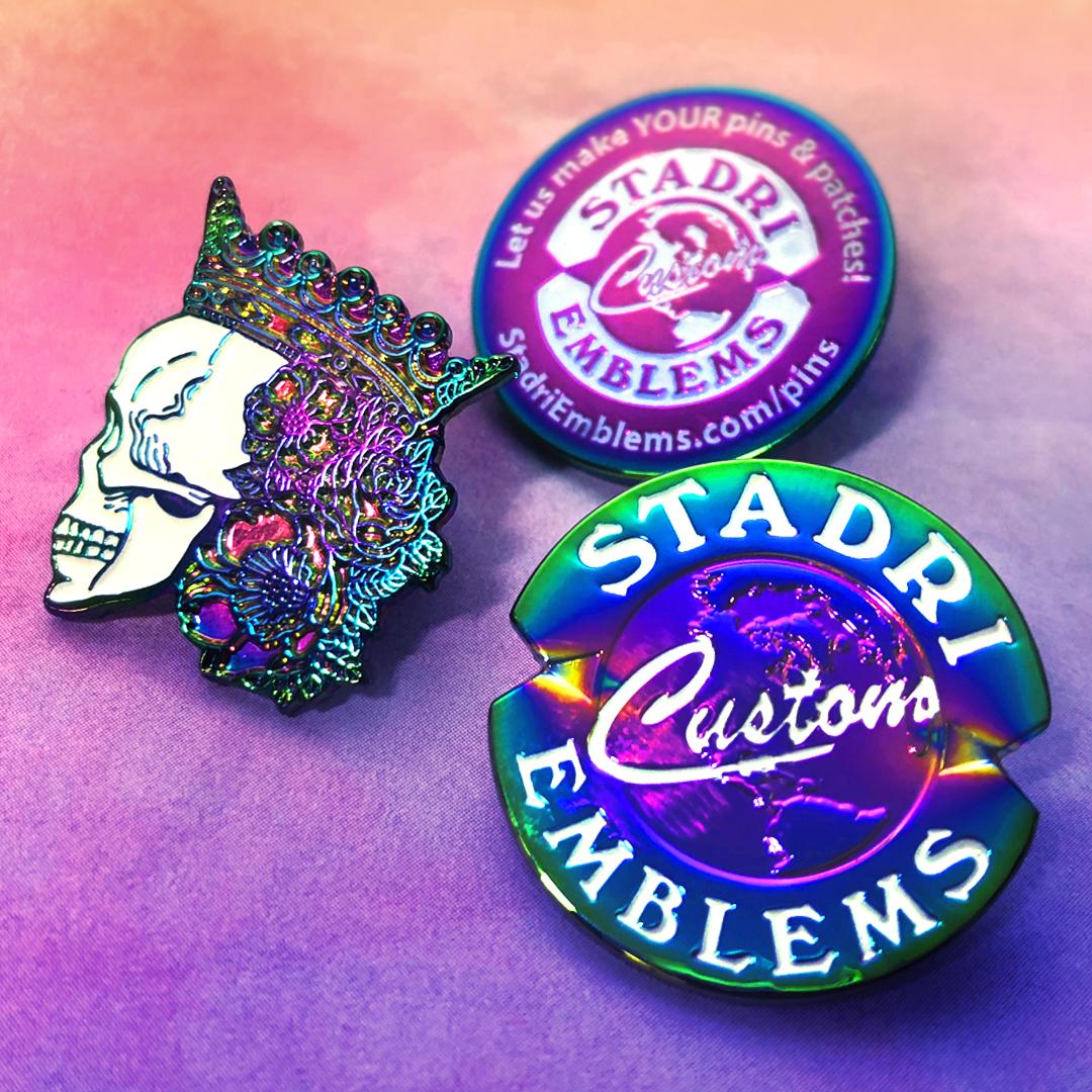Rainbow pin examples