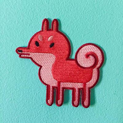 Nina Boyce Shibe dog patch