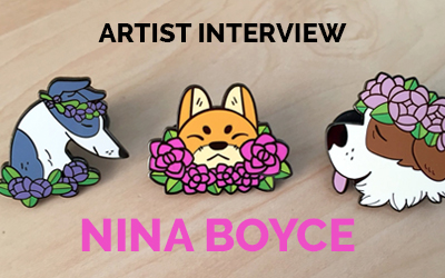 nterview with Patch & Pin Designer Nina Boyce