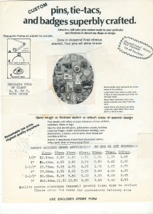 Stadri Advertisement Dated Approximately 1986