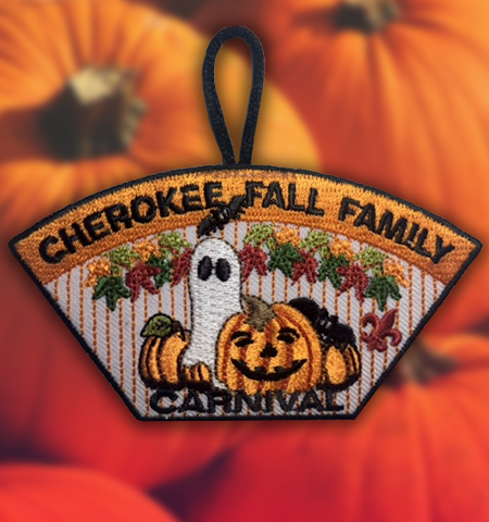 Cherokee Fall Carnival Patch