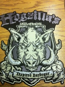 Hogzilla's Custom Patch made by Stadri Emblems