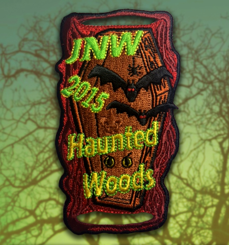 JNW 2015 Haunted Woods Patch