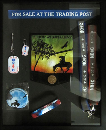 Items for sale at the trading post