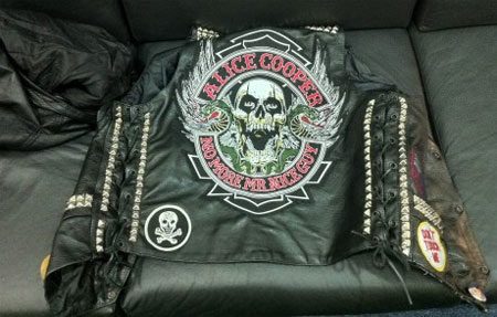 Alice Cooper Vest Patches