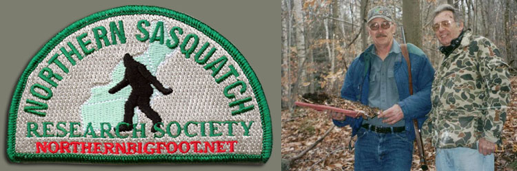 Northern Sasquatch Research Society patch