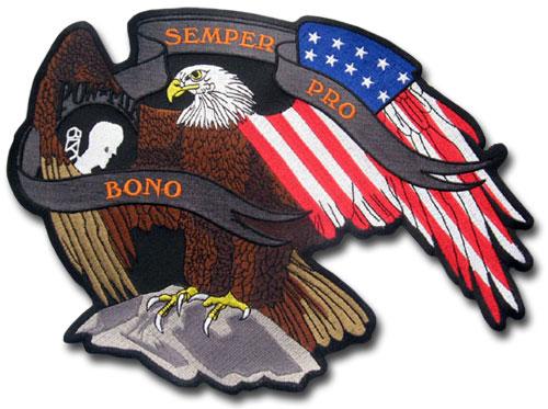Semper Pro Bono Eagle Patch
