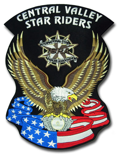 Central Valley Star Riders Patch