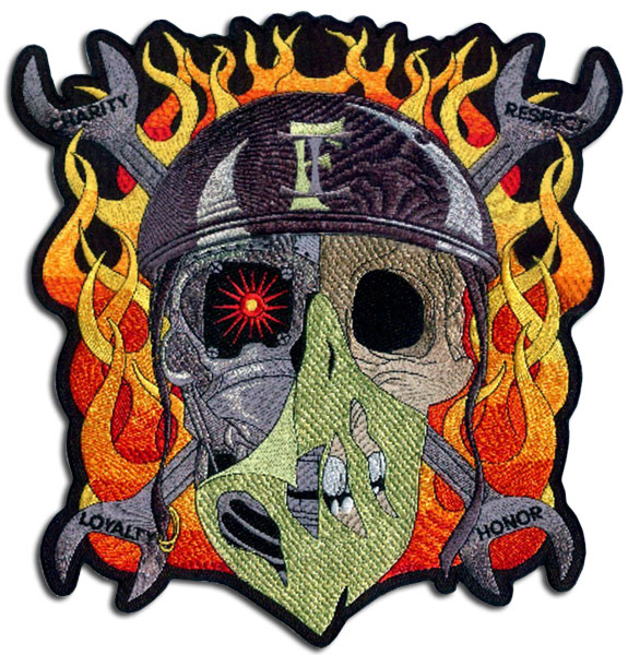 Cool Skull Patch