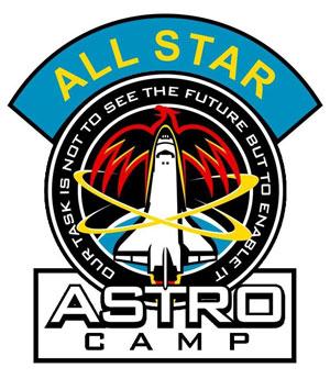 Astro Camp Patch Artwork