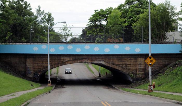 Cloud Bridge Mural