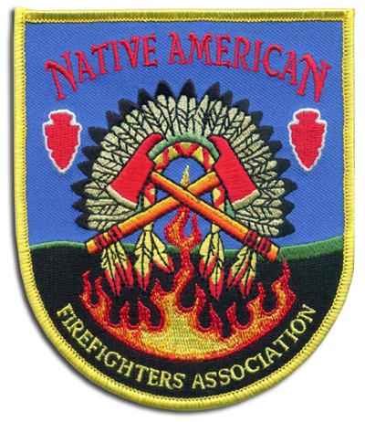 Native American Firefighter's Association patch