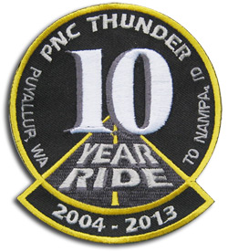 PNC Thunder Anniversary Patch