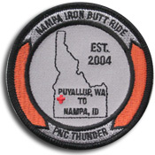 PNC Thunder ride patch