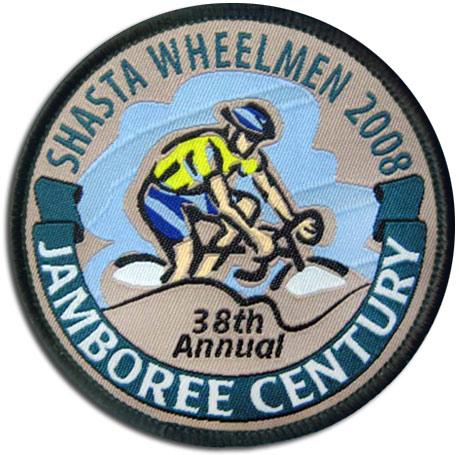 Shasta Whellmen Woven Patch