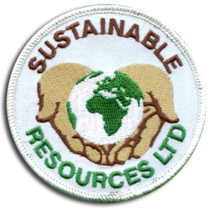 Sustainable Resources Custom Embroidered Patch